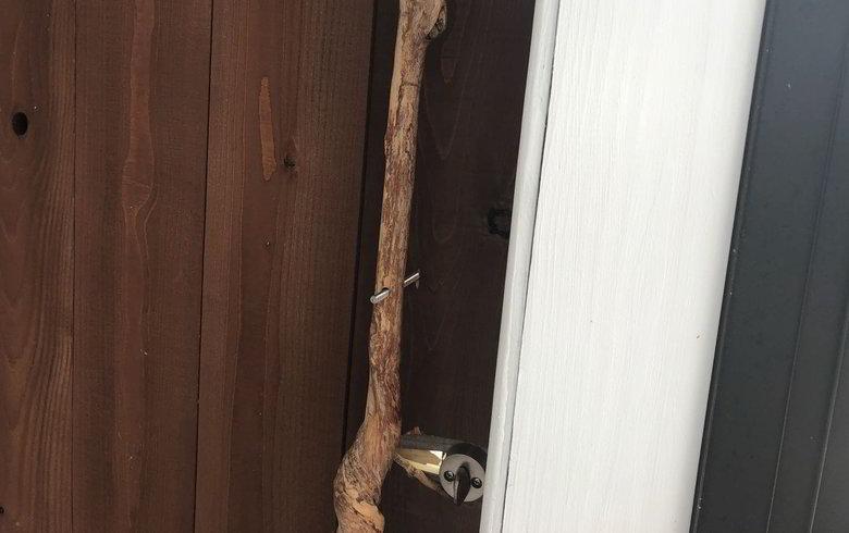 【店舗製作】ドアに取っ手ばつけるばい オリジナルのドアノブの制作