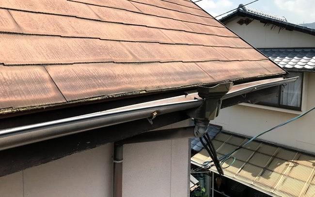 天神屋根雨樋修理-002