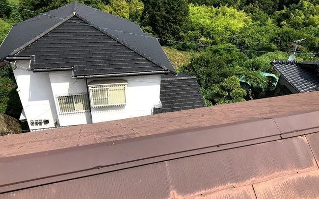 天神屋根雨樋修理-011
