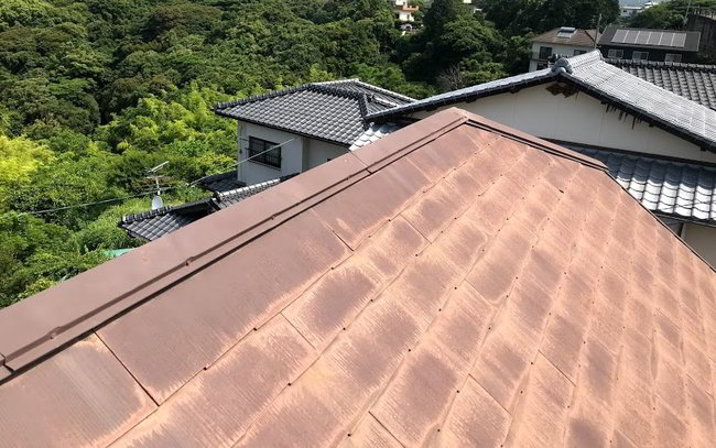 天神屋根雨樋修理-012