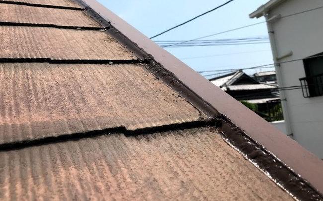 天神屋根雨樋修理-022