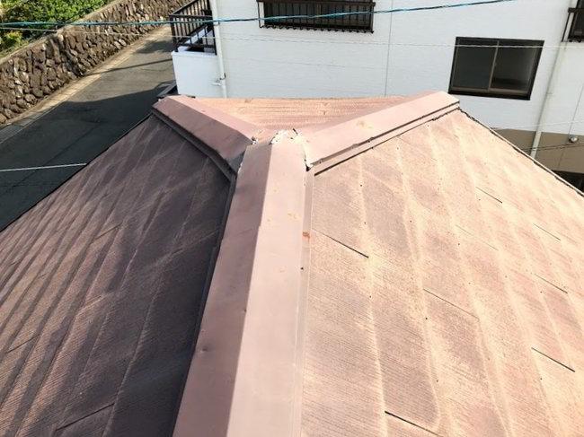 天神屋根雨樋修理-027
