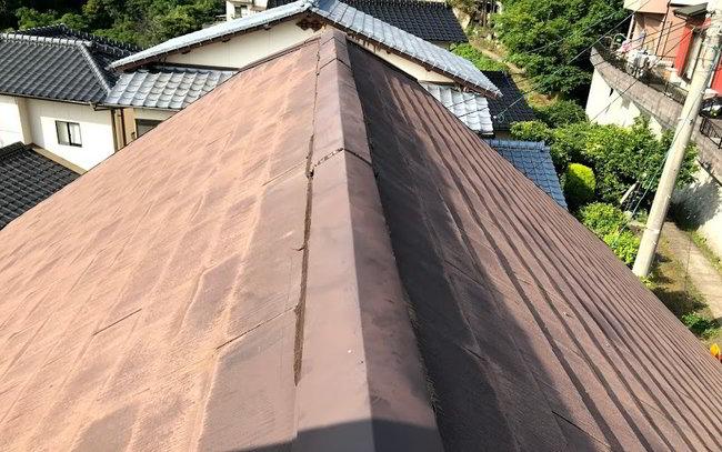天神屋根雨樋修理-028