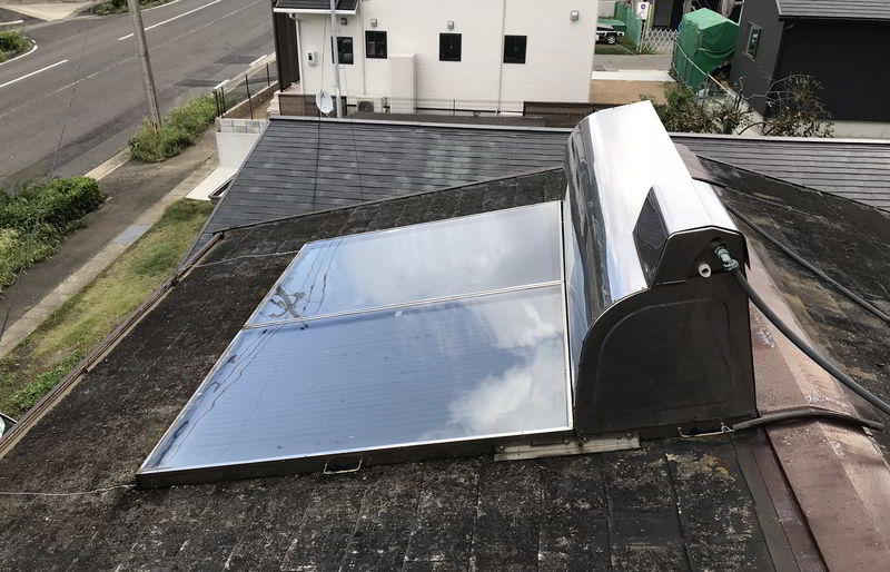 【解体仕事】太陽熱温水器の撤去ばい!佐世保市相浦町