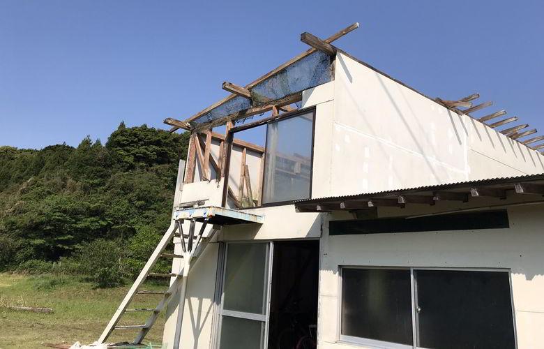 【解体仕事】鳩小屋の解体ばい
