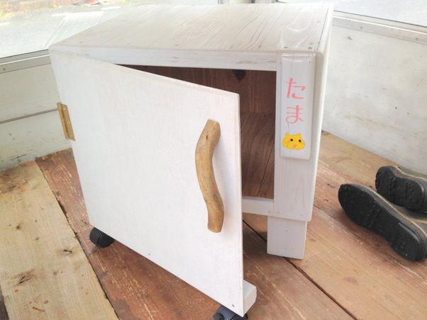 【木工仕事】猫小屋の製作