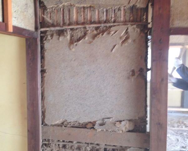 【解体仕事】相浦町の古壁の解体