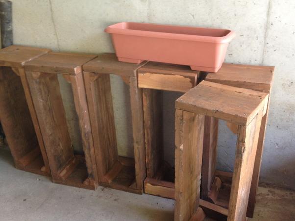 【木工仕事】フラワープランターの製作