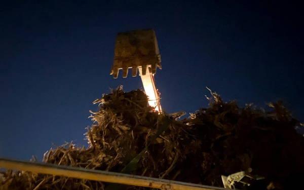 【伐採仕事】あー面白かった~ 伐採工事の完了ばい(=゚ω゚)ノ