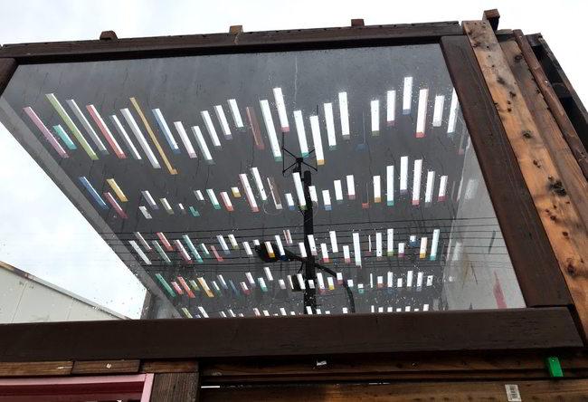 店舗解体天井