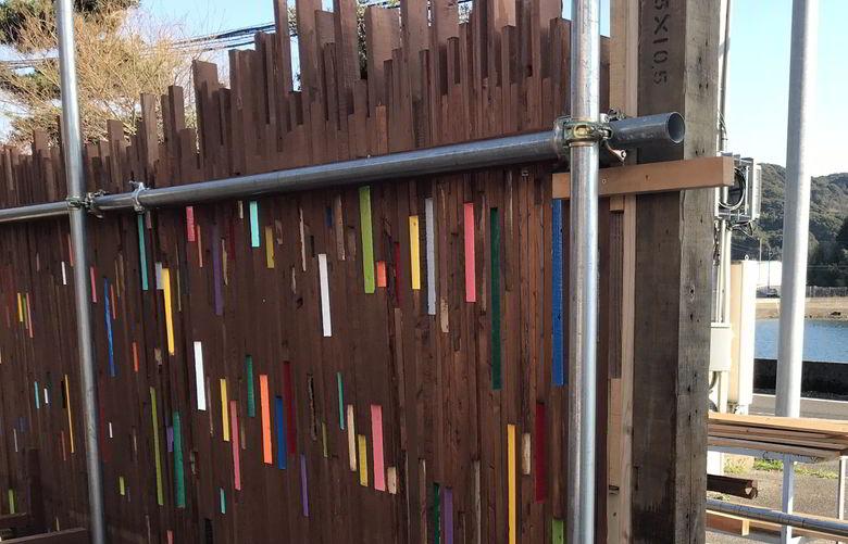 【店舗製作】フェンスに柱ば立ててみるばい