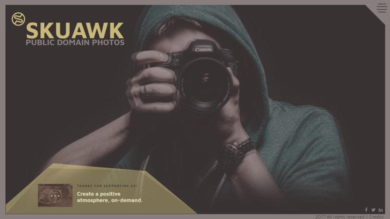 【ツール】著作権フリー、商用可、登録不要で高品質な写真ストックサービス★SKUAWK