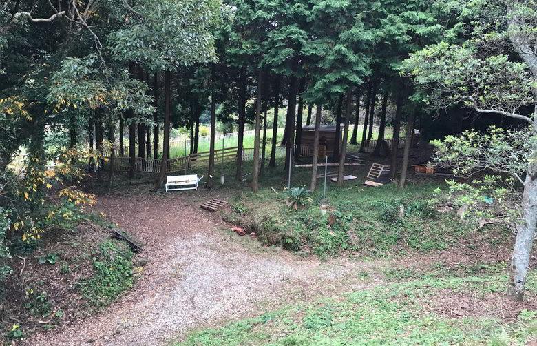 【山羊楽園】山羊の楽園のフェンスば作るばい